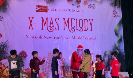 xmas tại golden gate english